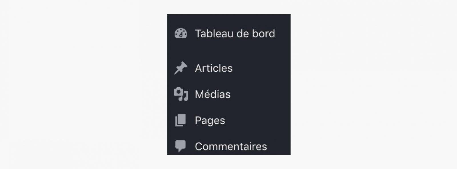 Les articles et les pages dans WordPress